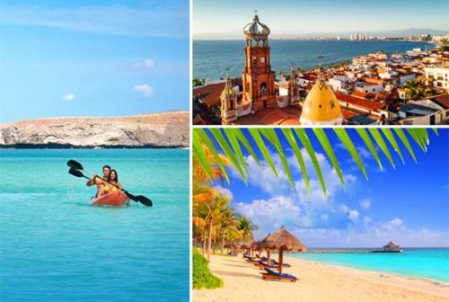 La soleada Riviera Mexicana